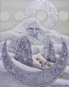 The Cailleach by Michael Hickey